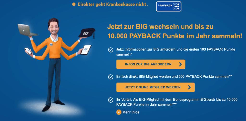 BIG direkt Payback