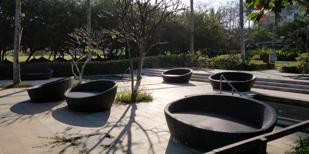 Conrad Sanya Hot Tubs