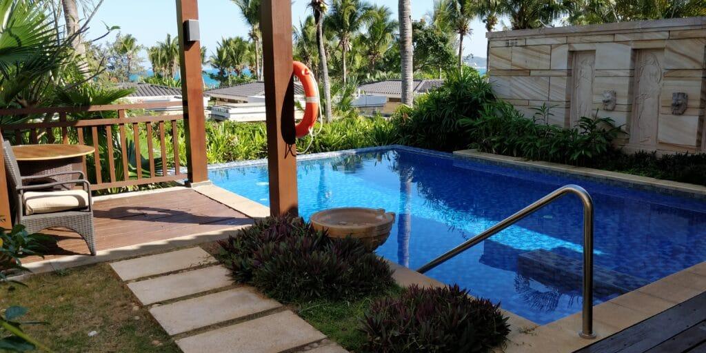 Conrad Sanya Villa Pool 2