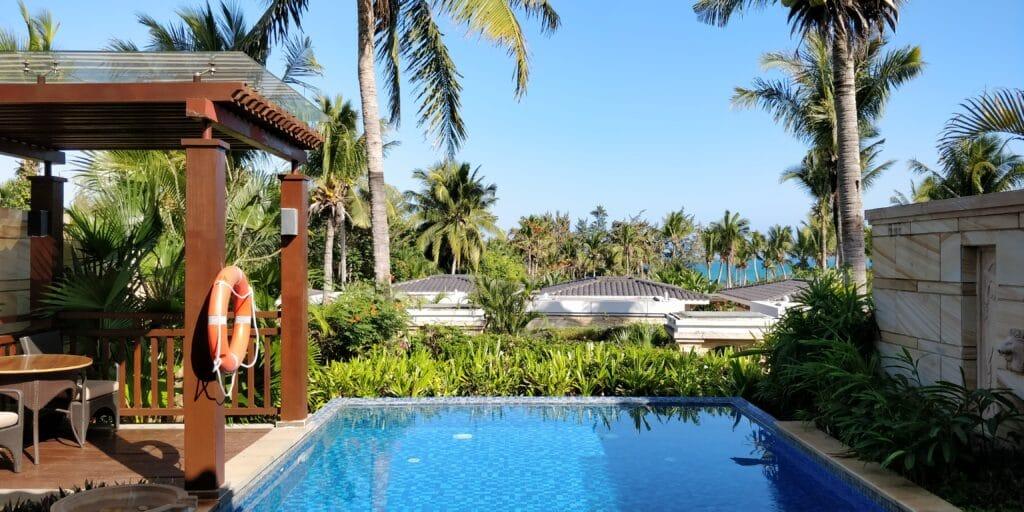 Conrad Sanya Villa Pool 4