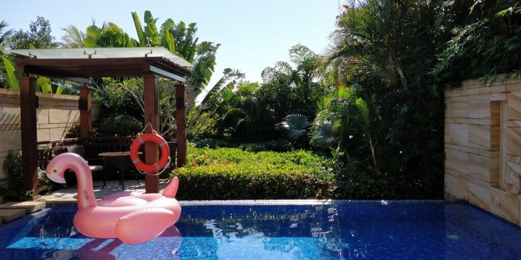 Conrad Sanya Villa Pool 5