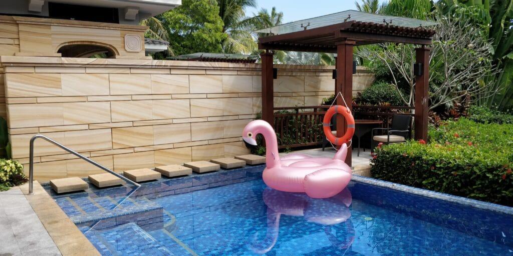 Conrad Sanya Villa Pool 6