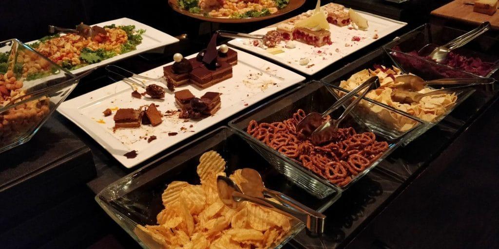 Conrad Seoul Executive Lounge Abendessen 4