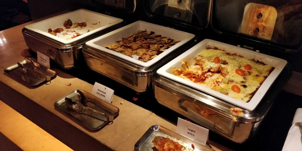 Conrad Seoul Executive Lounge Abendessen 6