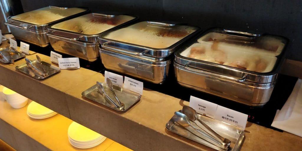 Conrad Seoul Executive Lounge Frühstück 3