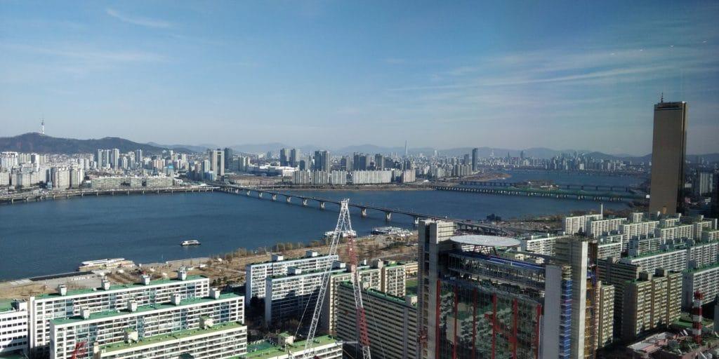 Conrad Seoul Suite Ausblick
