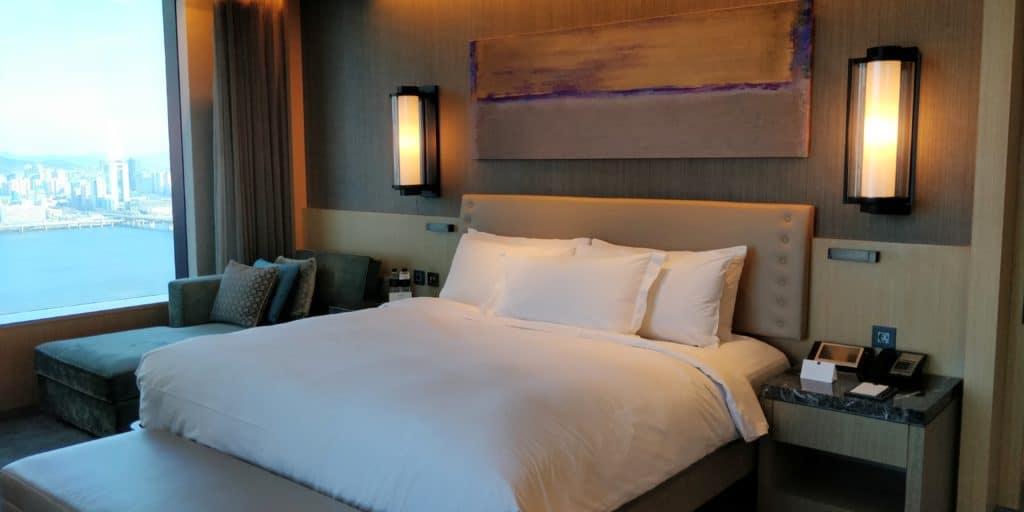 Conrad Seoul Suite Schlafzimmer 2