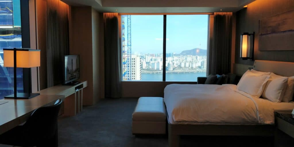 Conrad Seoul Suite Schlafzimmer 3