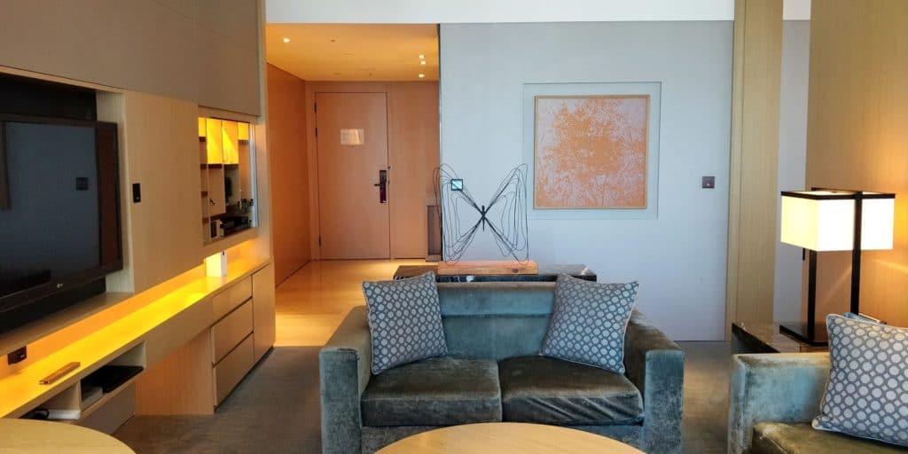 Conrad Seoul Suite Wohnzimmer 3