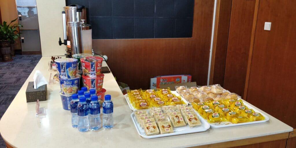 First Class Lounge Sanya Terminal 1 Buffet