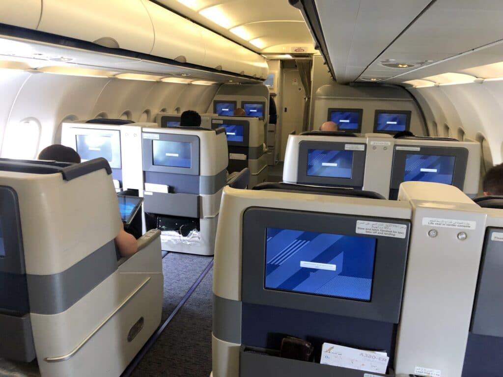 Gulf Air Business Class Kabine