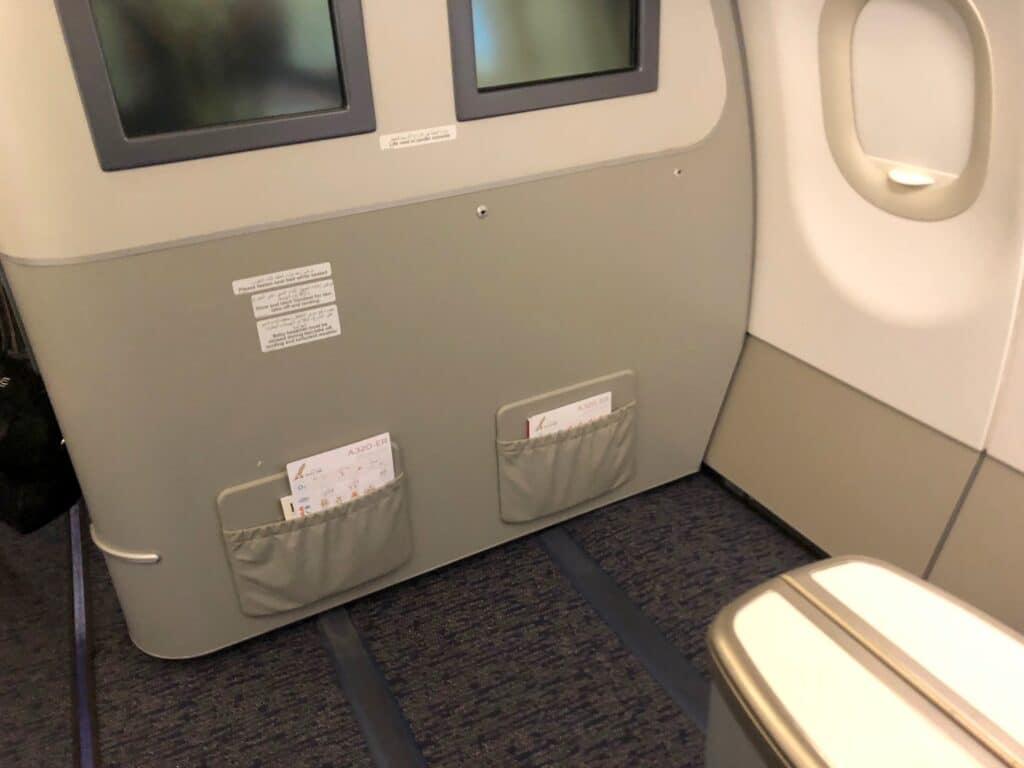 Gulf Air Business Class Sitz 2