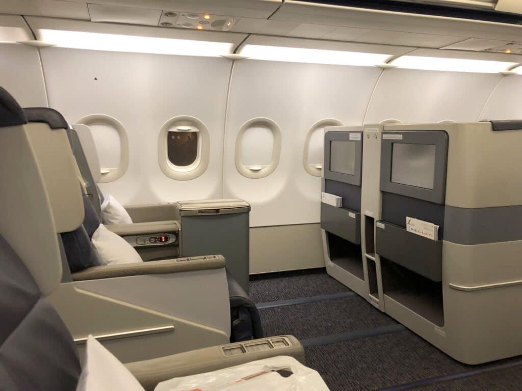 Gulf Air Business Class Sitz 3