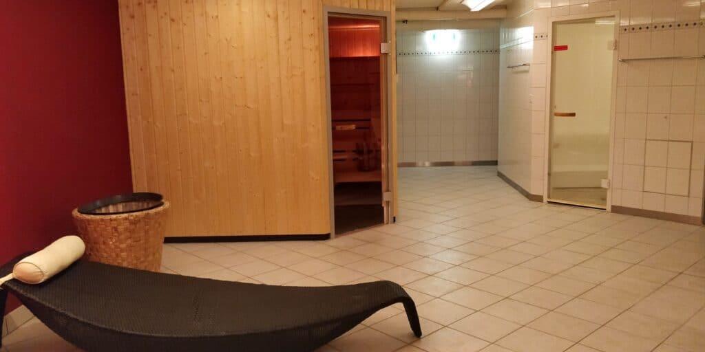 Hilton Zürich Airport Sauna