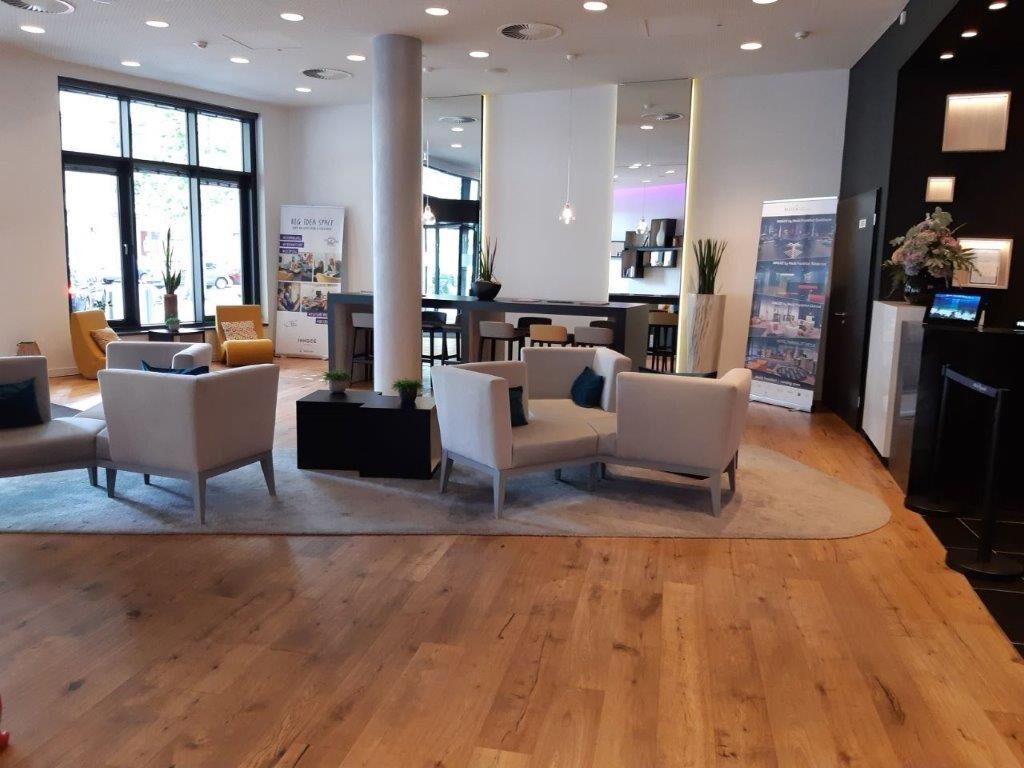 Innside Frankfurt Ostend Lobby