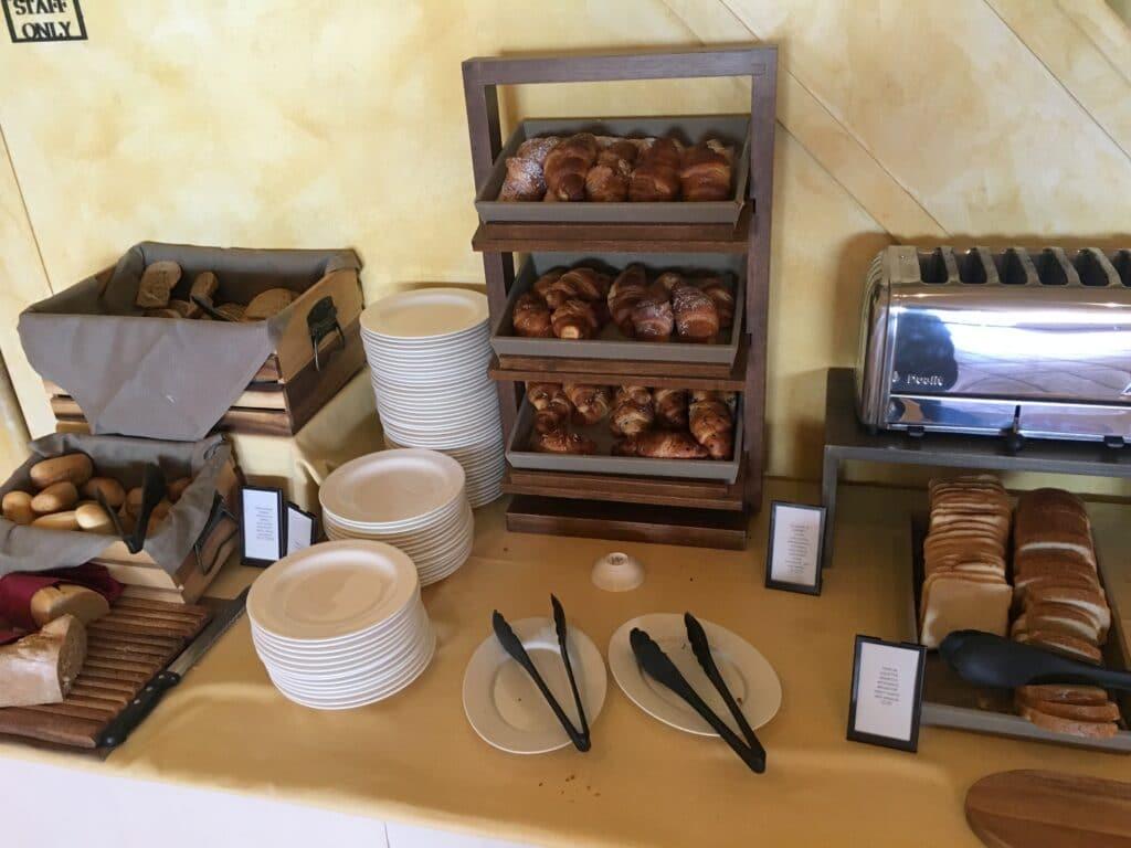 La Bagnaia Resort Siena Frühstück 3