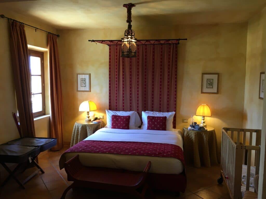La Bagnaia Resort Siena Zimmer