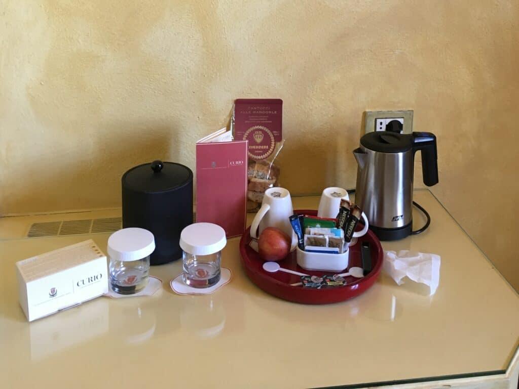 La Bagnaia Resort Siena Zimmer 3