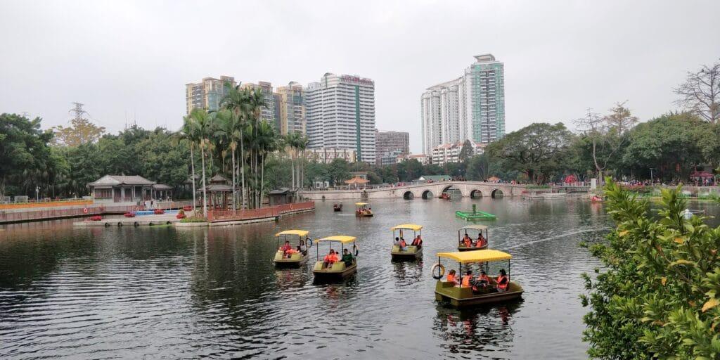 Liwan Lake Park Guangzhou 2