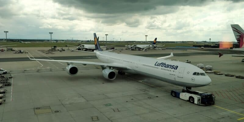 Lufthansa Senator Lounge Frankfurt C Ausblick