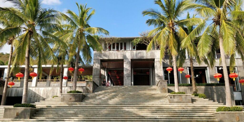 Mandarin Oriental Sanya Gelände