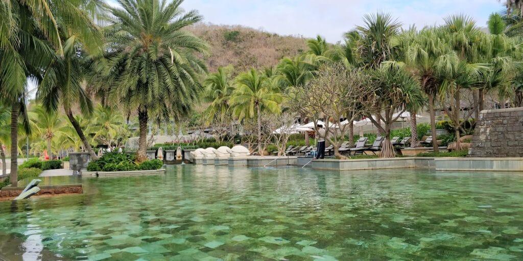 Mandarin Oriental Sanya Pool 3