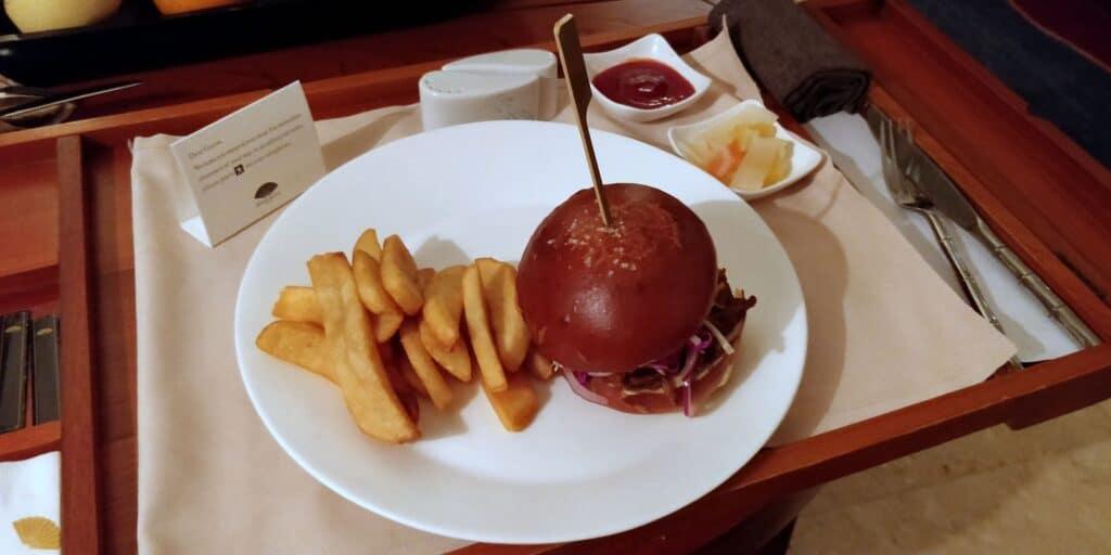 Mandarin Oriental Sanya Room Service