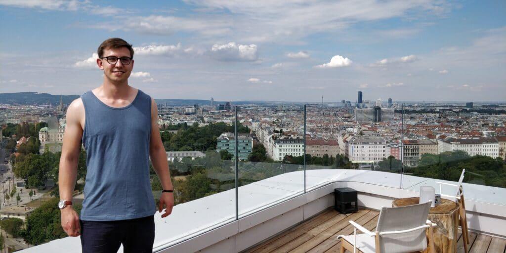 Moritz Stoldt Dachterrasse Andaz Wien