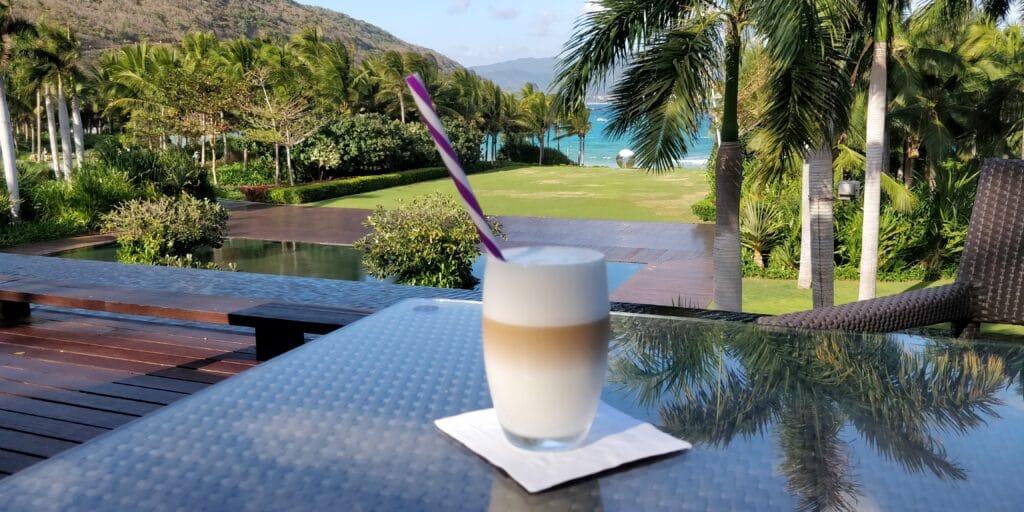 Park Hyatt Sanya Kaffee