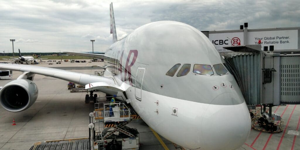 Qatar Airways Airbus A380 2