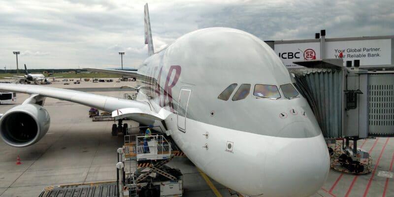 Qatar Airways Airbus A380 2