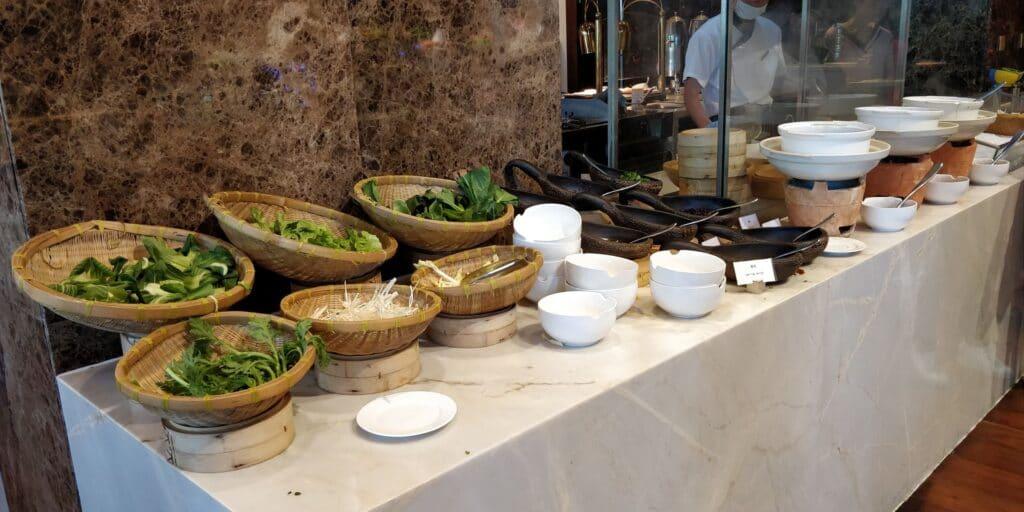 Sanya Yazhou Bay Resort Frühstück