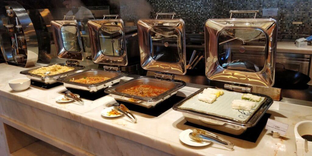 Sanya Yazhou Bay Resort Frühstück 2