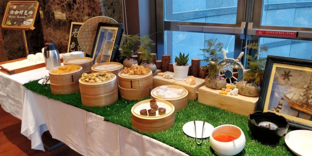 Sanya Yazhou Bay Resort Frühstück 4