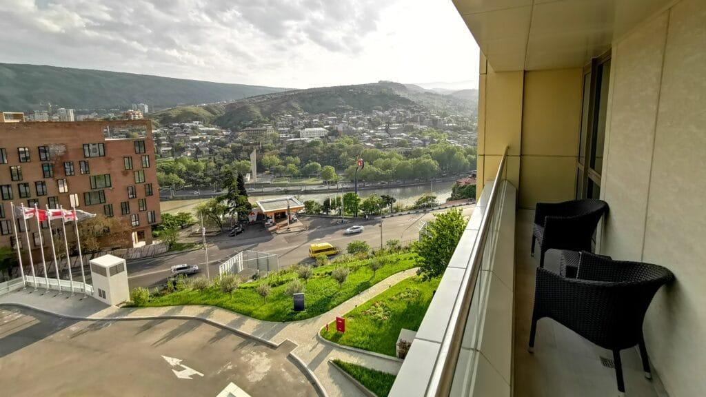 Sheraton Grand Tiflis Balkon