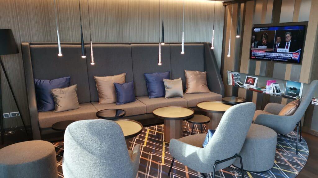 Sheraton Grand Tiflis Club Lounge