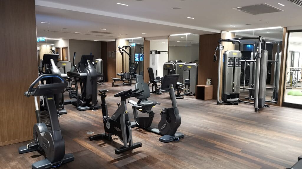 Sheraton Grand Tiflis Gym Geräte