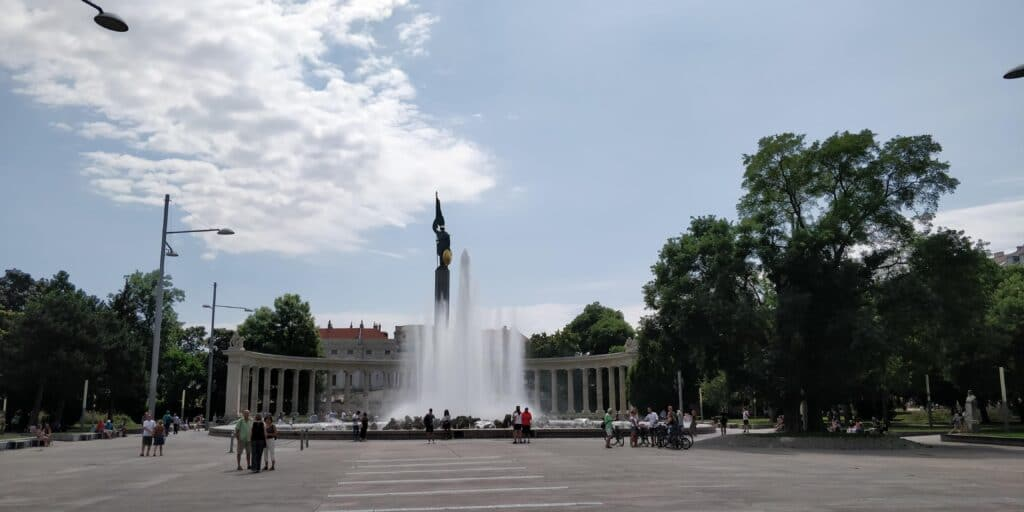 Wien Hochstrahlbrunnen