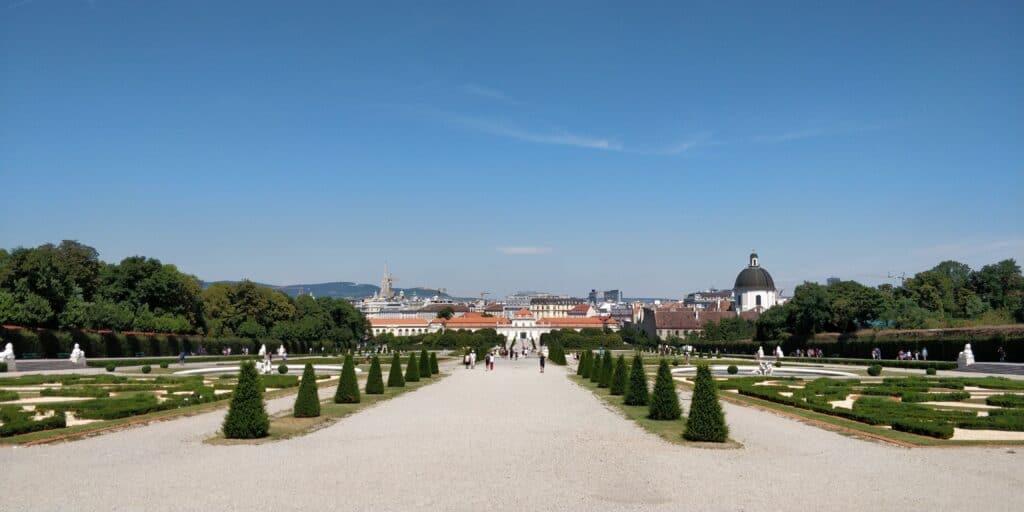 Wien Schloss Belvedere 1