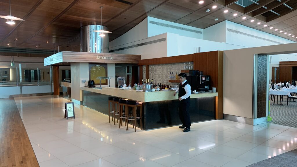 Emirates First Class Lounge Dubai B Bar