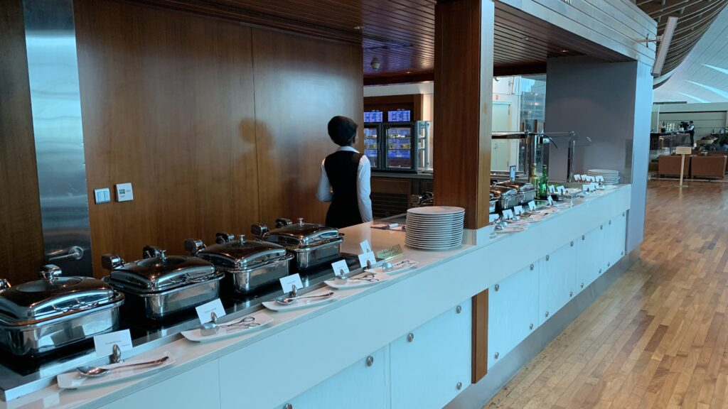 Emirates First Class Lounge Dubai B Buffet 3