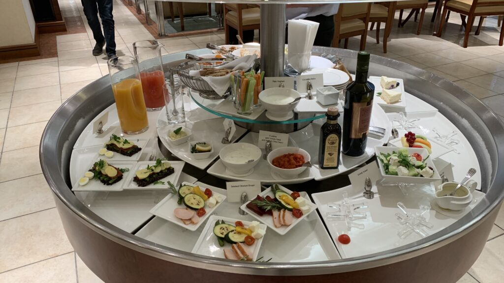 Emirates Lounge Frankfurt Buffet Klein 2