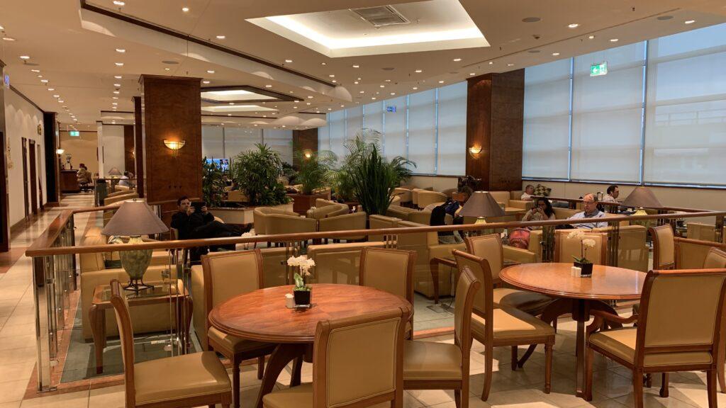 Emirates Lounge Frankfurt Decor 2