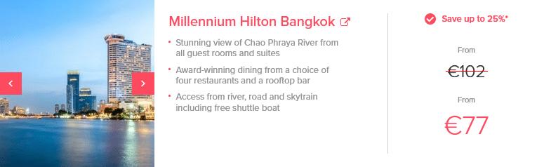 Hilton Sale Beispiel