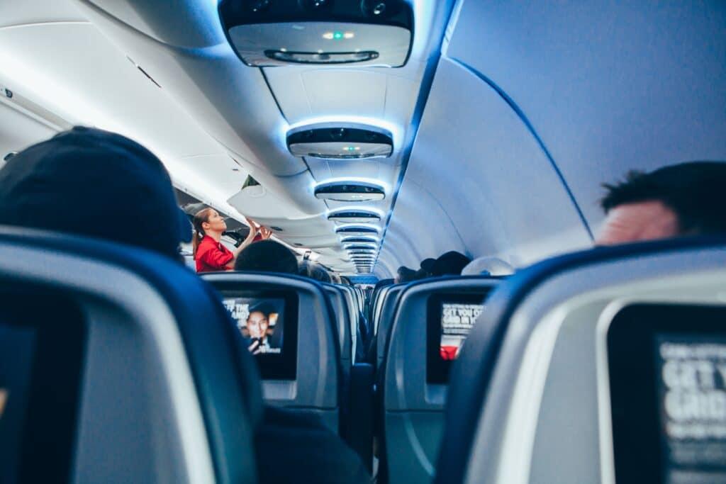Airport Flughafen Airplane Flugzeug Inside Innen