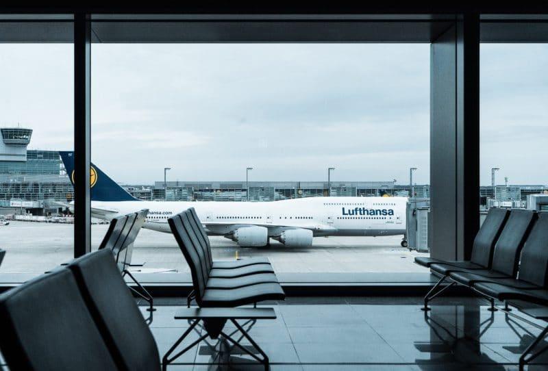 Airport Flughafen Airplane Flugzeug Lufthansa2