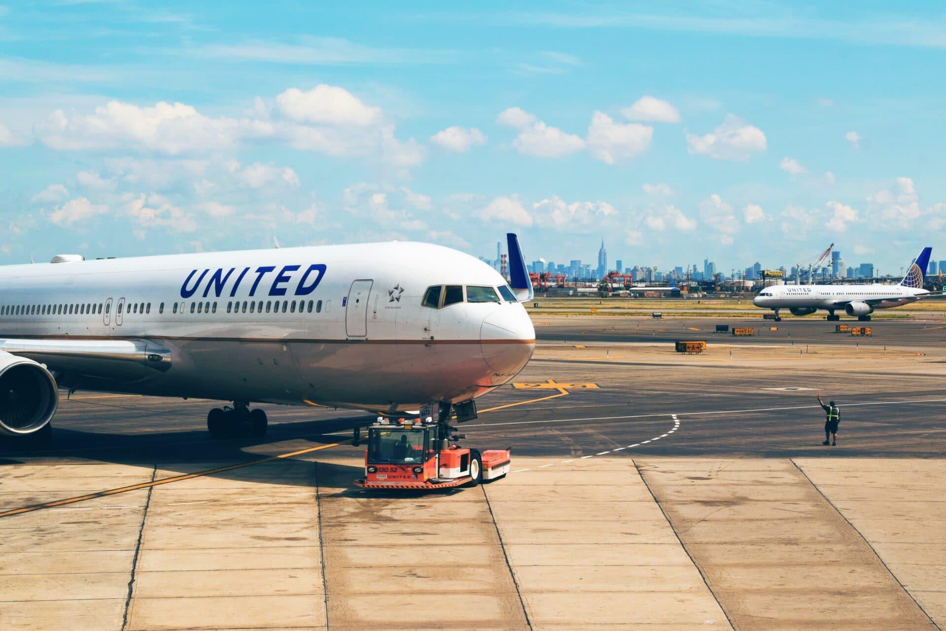 Airport Flughafen Airplane Flugzeug United