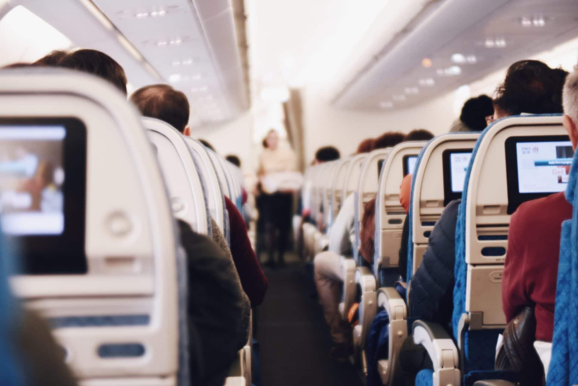 Airport Flughafen Airplane Flugzeug Inside