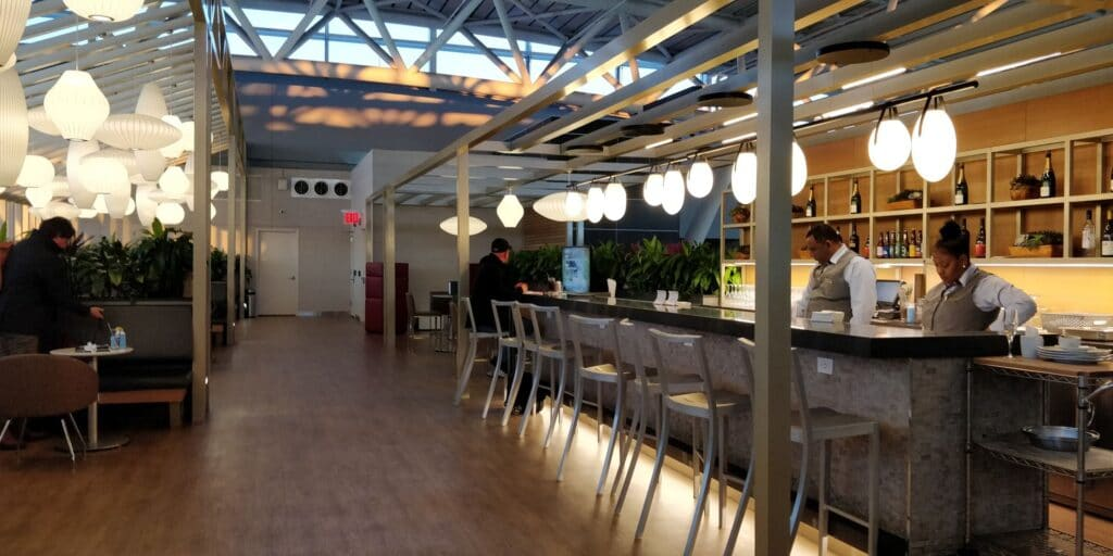 American Airlines Flagship Lounge New York JFK Layout 1