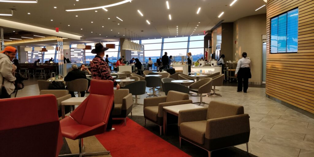 American Airlines Flagship Lounge New York JFK Layout 8